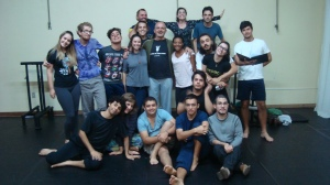 Calouros 2015 da Graduação em Teatro: Licenciatura (UERGS)