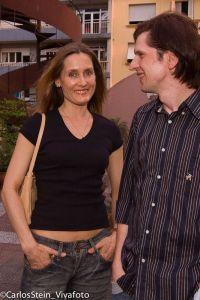 Lilly Lutzenberger e Cristiano Goldschmidt