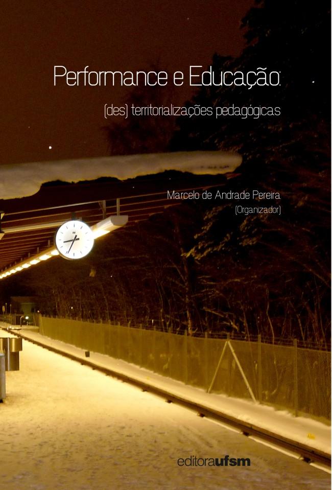 Performance e educação capa livro