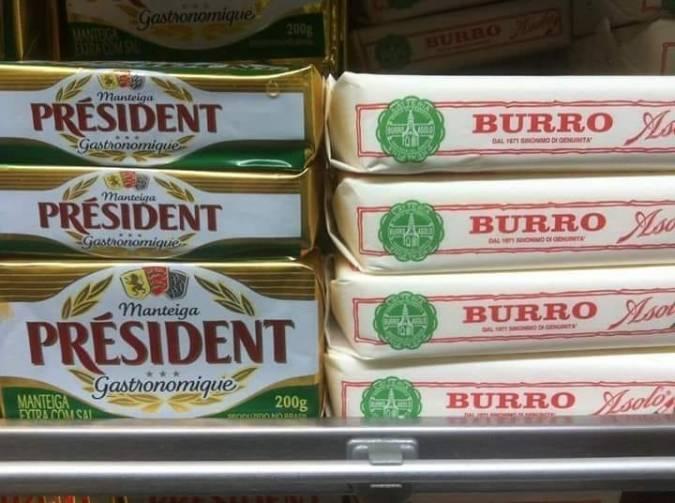 président burro